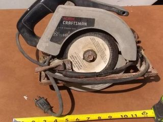 Craftsman Circular Saw Tested And Working