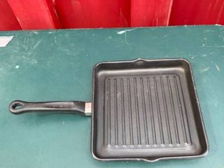Ultrex II 18 10 Stainless Steel Non Stick Griddle Frying Pan