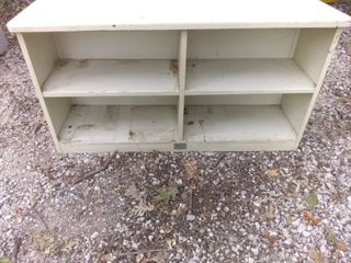 Nice 4 Cubby Garage Storage Shelf 58x16x32
