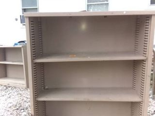 Nice 3 Tiered Garage Shelf In Good Condition Some Rust 36x13x42