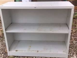 Nice Grey Garage Shelf In Excellent Condition 35x13x30