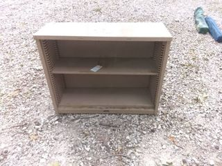 Nice 2 Cubby Garage Shelf In Great Condition 36x13x29