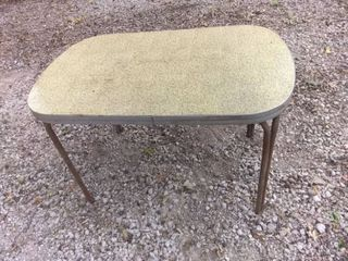 lovely Vintage Formica Topped Kitchen  Dining Table Needs TlC 48x30x29