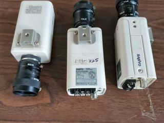 lot of 3 Sanyo Video Cameras