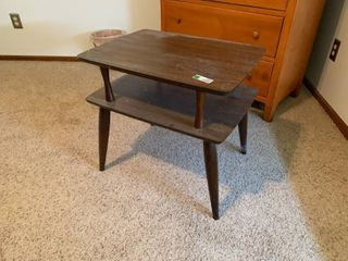 Small Mid Century Modern End Table