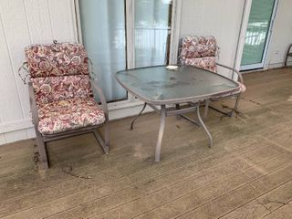 3pc Outdoor Table Set