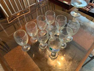 10pc Glassware lot