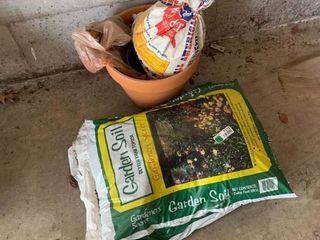 Bags of Soil lot