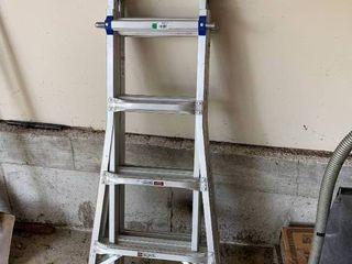17  Werner Aluminum Extension ladder