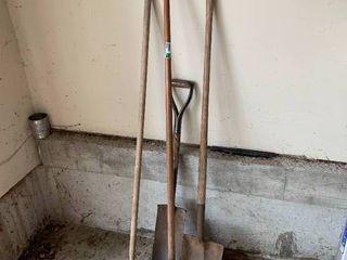 4pc Yard Tool lot
