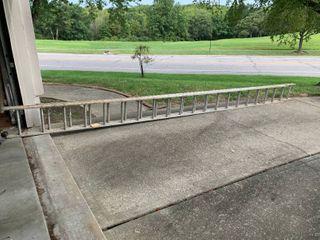 40ft Aluminum Extension ladder