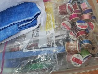 lot of Miscellaneous Sewing Supplies