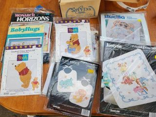 lot of Nursery Cross Stitch Designs   9 Total