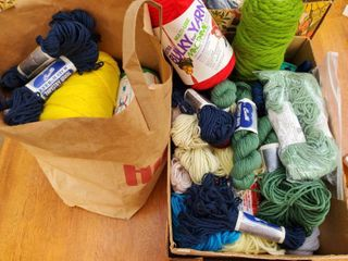 Mega lot of Wool and Yarn 40  Spools