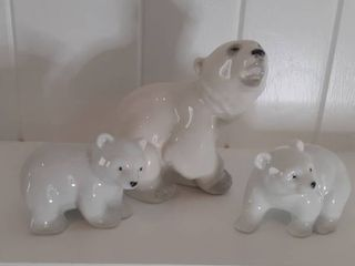 lot of 3 Otagiri Polar Bears
