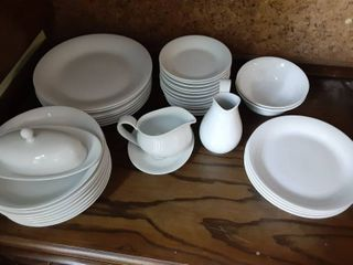 lot of 38 Piece Dining Table Kitchen Set