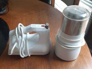 Food Processor and Hand Mixer