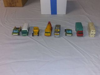 Nice lot Of 6 Vintage Matchbox Cars And 2 Playart Cars