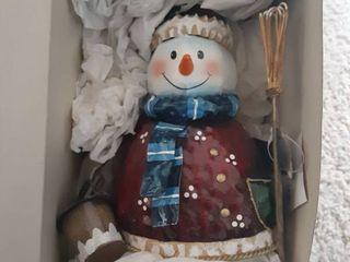 Small Snowman Christmas Decor