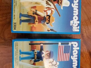 Set of 2 Playmobil legos