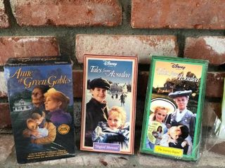 Anne of Green Gables VHS Set location Fireplace Right Shelf