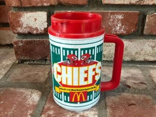 Chiefs Portable Coffee Cup location Fireplace Right Shelf