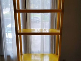 5 Tier Yellow Shelf  Plastic