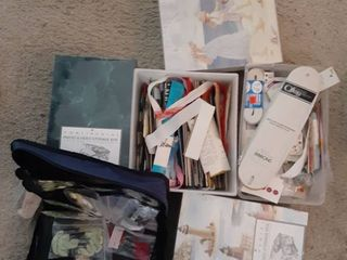 lot Of Arts And Crafts and Sewing Supplies