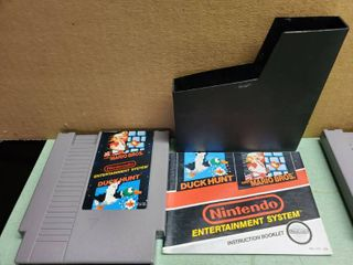 Nintendo Entertainment System Duck Hunt and Mario