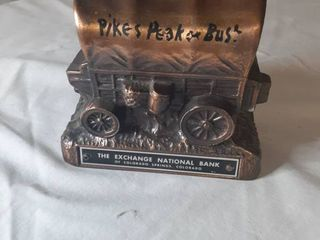 Metal Carriage Piggy Bank
