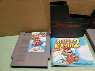 Nintendo Entertainment System Super Mario Bros 2