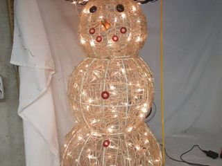 3 ft Tall light Up Snowman