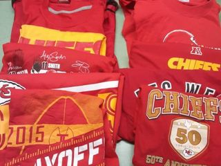 lot of 12 Chiefs Shirts