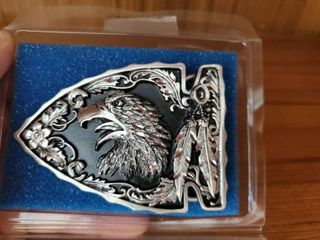 Siskiyou Eagle Belt Buckle NIB