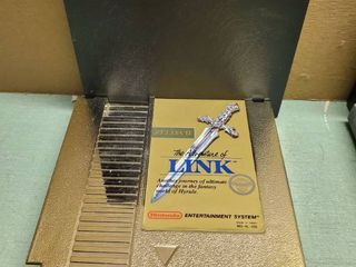 Nintendo Entertainment System Zelda 2 The Adventure of link