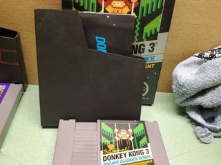 Nintendo Entertainment System The Original Donkey Kong 3   Arcade Classic Series