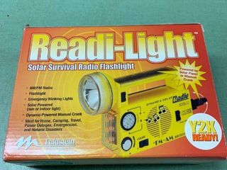 Readi light Solar Survival Radio Flashlight Working location Shelf 2