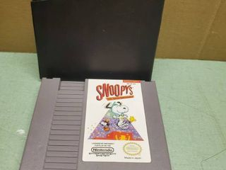 Nintendo Entertainment System Snoopys Silly Sports Spectacular