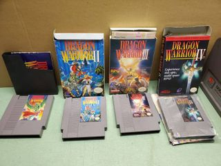 Nintendo Entertainment System  Dragon Warrior 1   4 Collection