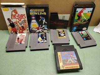 Nintendo Entertainment System  Sports Games