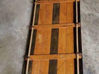 Vintage Toboggan Sled