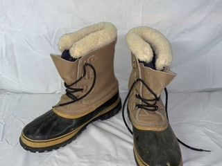 Mens Size 13 Sorel Caribou Winter Boots location Shelf 2