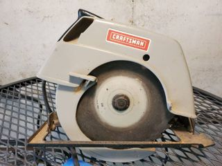 Craftsman 7 Inch Circular Saw  Tested and Working