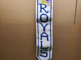 Kansas City Royals Sewn Wall Decor 38 Inches long