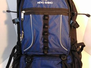 nevo Rhino backpack color blue and black