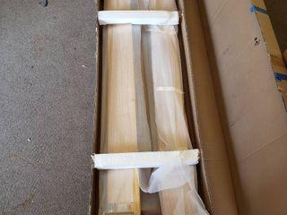 Bolton furniture platform full size bed natural color three parts head headboard footboard rails and slats