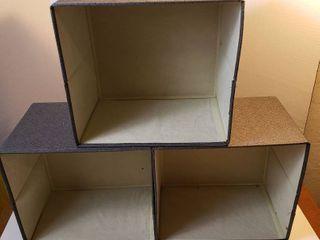 11 x 12 Storage Shelf Bins Gray   3
