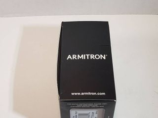 Armitron stainless steel wristband Mens Watch Six Hour Night glow water resistant to 165 ft