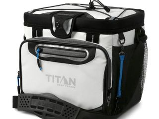 Arctic Zone Titan Deep Freeze Zipperless Hardbody 24 Can Cooler - White