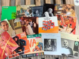Lot of 15 Vintage Record Albums